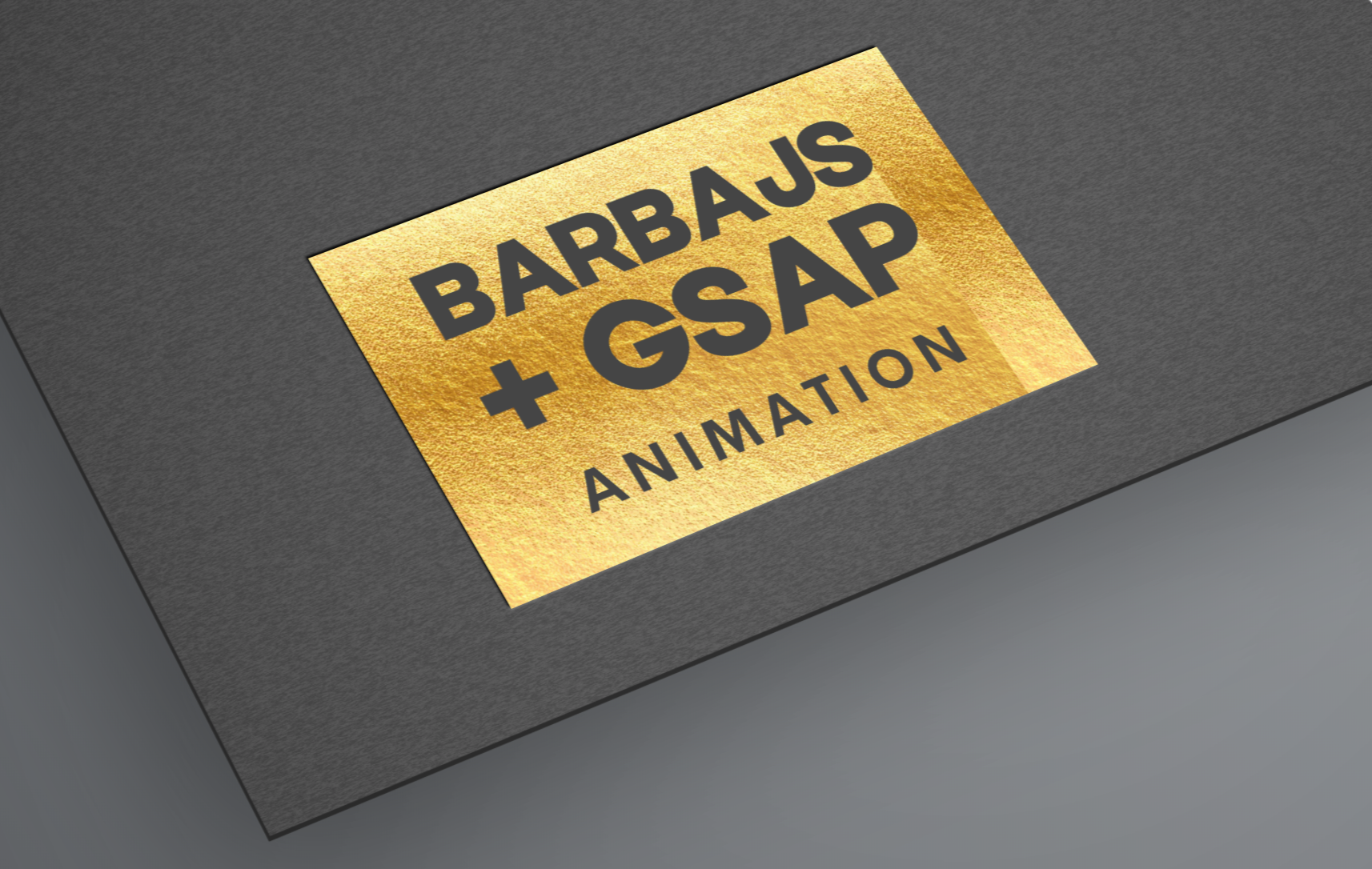 Barbajs with GSAP Animation